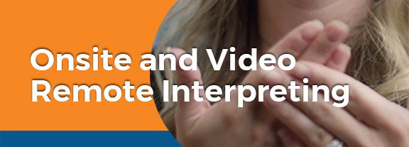 onsite remote video interpreting